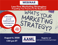 Webinar - Law Firm Marketing Strategies: Propelling Your Practice to the Next Level