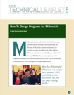 Technical Leaflet 272: How to Design Programs for Millenials