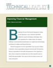 Technical Leaflet 269: Improving Financial Management (PDF Download)