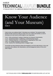 Technical Leaflet Bundle 25: Know Your Audience (And Your Museum)