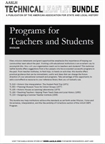 Technical Leaflet Bundle 8: Programs for Teachers and Students