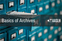 [Online Course] Basics of Archives