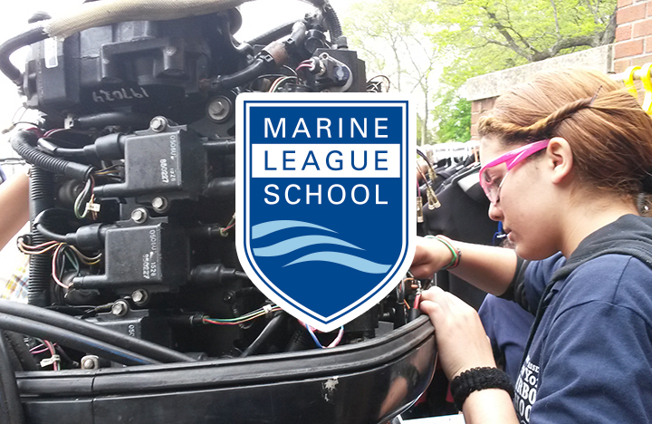 Marine League of School