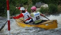 Slalom Nationals. Photo Courtesy of John Thompson