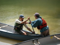 ACA Canoe Instruction