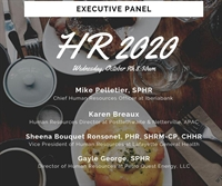 ASHRM Monthly Meeting Breakfast Executive Panel HR2020