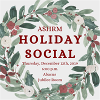 ASHRM Annual Holiday Social