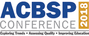 2018 ACBSP Conference Logo