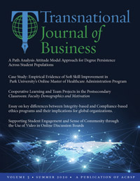 The Transnational Journal of Business v05