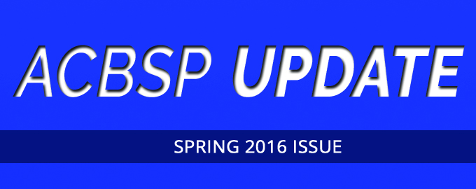 Spring ACBSP Update Issue Available
