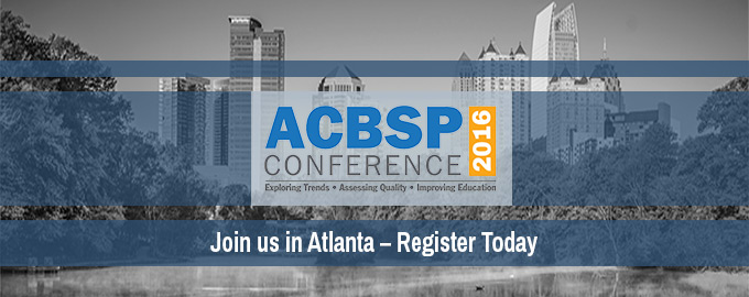 ACBSP Conference 2016
