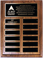Award Plaque for Student