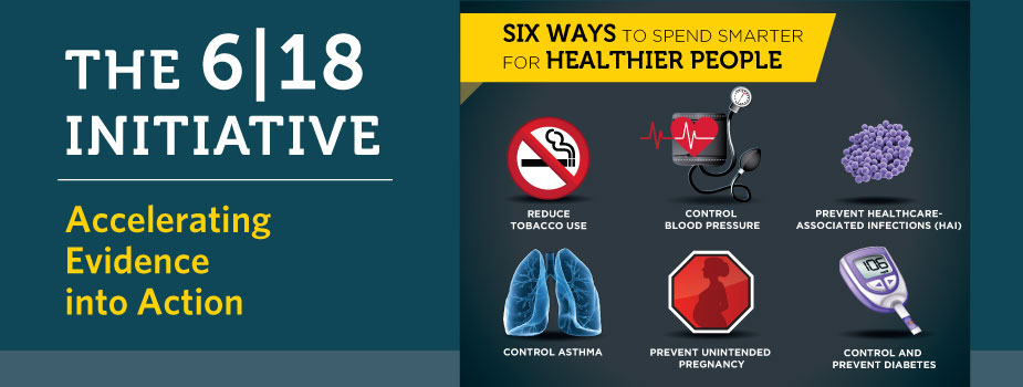 CDC's 6|18 Initiative, Accelerating Evidence into Action