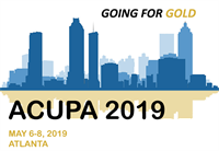 Going for Gold - ACUPA 2019