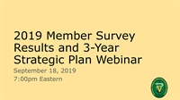 ACVPM Member Survey Results and 3-Year Strategic Plan WEBINAR