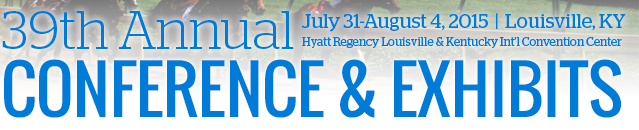 39th Annual Conference & Exhibits: July 31 - Aug 4, 2015
