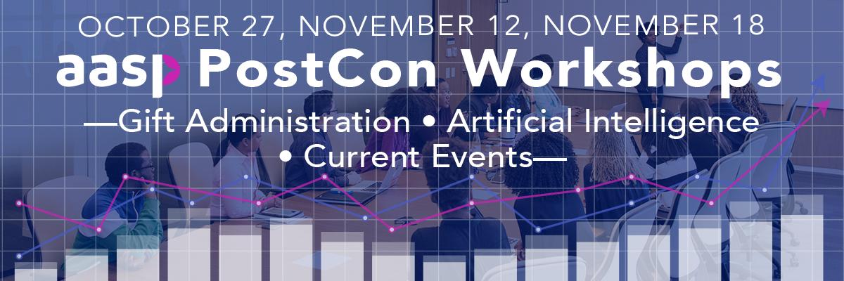 2020 PostCon Workshops