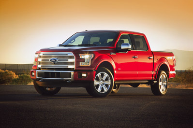 Ford launches the aluminum-intensive 2014 F150