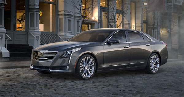 Cadillac introduces their aluminum-intensive CT6