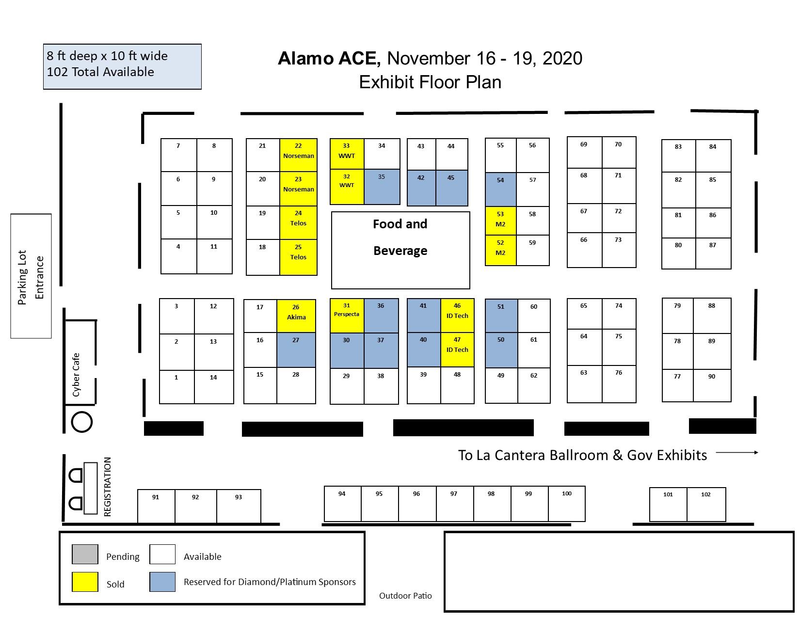 2020 Alamo ACE floorplan