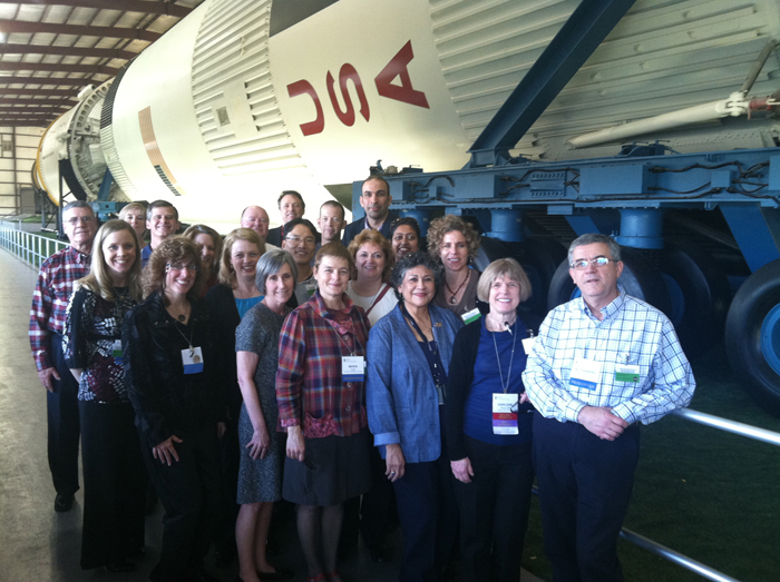 PEN members at NASA