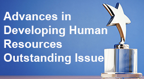 advances in developing human resources outstanding issue