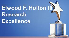 Elwood F. holton III award