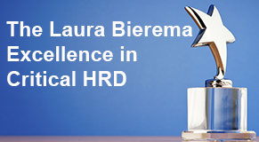 The Laura Bierema award