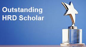 OUtstanding hrd scholar award