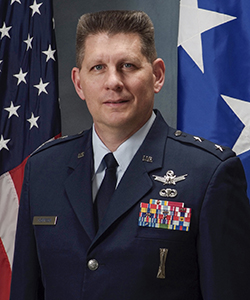 Major General David D. Thompson