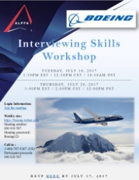 ALPFA OC Interviewing Skills Workshops- online