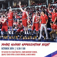 CANCELLED - Young Alumni Appreciation Night!