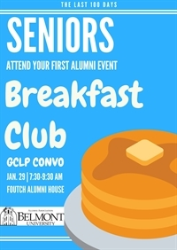 Belmont Breakfast Club - SENIORS ONLY