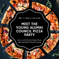 Meet The Young Alumni Council Pizza Party & Battle of the Blvd.