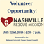 Volunteer Opportunity - Nashville Rescue Mission