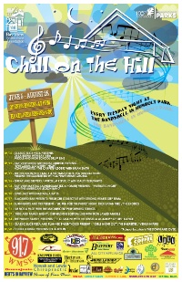 CY MKE Summer Series- Chill on the Hill