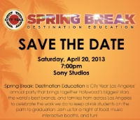 CY LA: Save the Date! City Year Spring Break 2013:  Destination Education