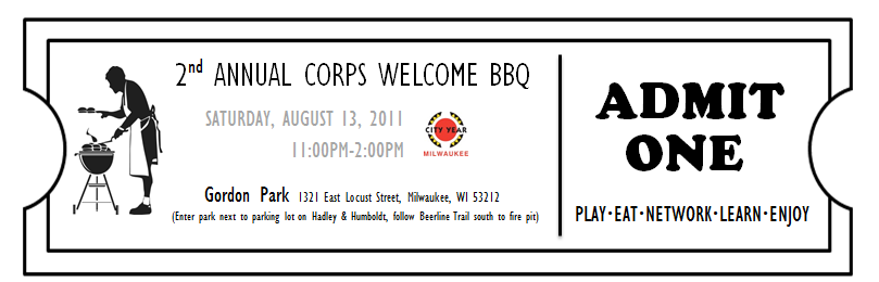 MKE Corps Welcome BBQ!