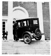 Car on Bates Steps