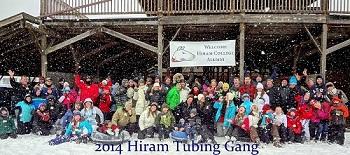 Hiram Snow Tubing