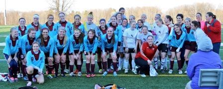 Alumni Soccer Game Alumni Game 2015