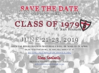 Class of 1979 - 40 Year Reunion