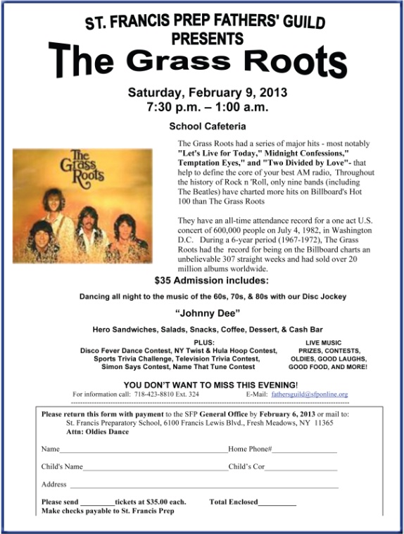 SFP Oldies Concert