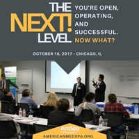 The Next Level: AmSpa's 201 Course - Chicago