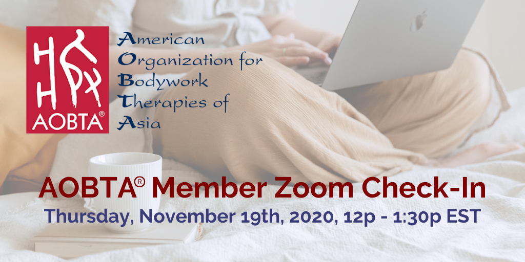 AOBTA® Member Zoom Check-In