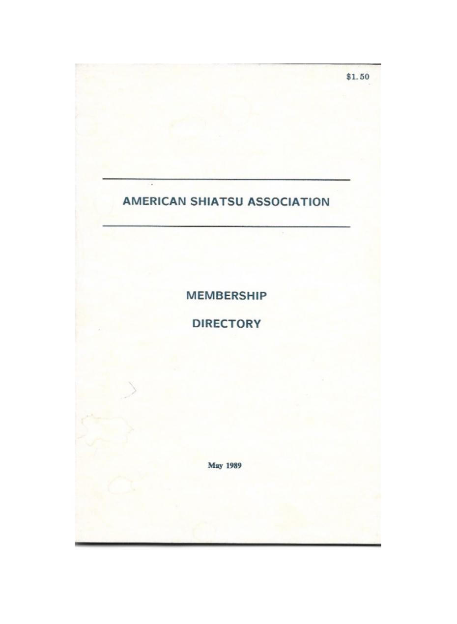 1989 ASA Directory