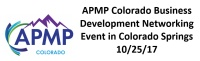 APMP Colorado Business Development Networking Event in Colorado Springs 10/25/17