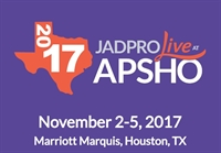 JADPRO Live at APSHO Abstract Submission Deadline