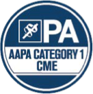 AAPA Category 1 CME Badge