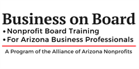 ALLIANCE EVENT- Business On Board- Prescott - CANCELLED